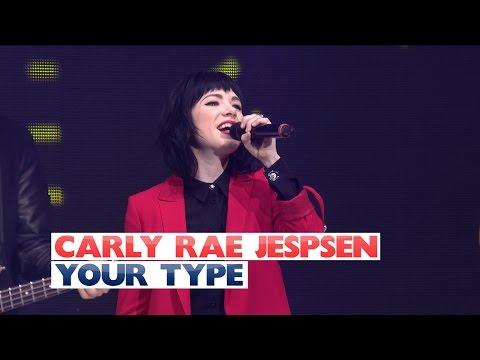Carly Rae Jepsen - 'Your Type' (Live at Jingle Bell Ball 2015)