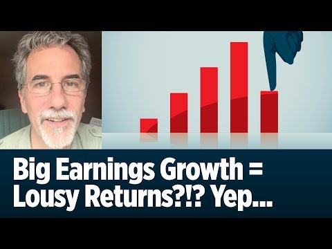 Big Earnings Growth = Lousy Returns?!? Yep...