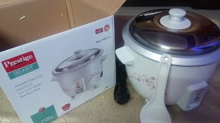 Prestige electric rice cooker review/affordable rice cooker
