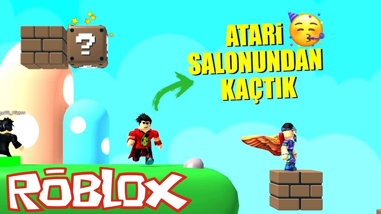 ATARİ SALONUNDAN KAÇTIK 🕹️ Roblox Escape The Arcade Obby!