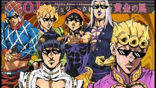 Download Lagu JoJo's Bizarre Adventure: Gangsta's Paradise. Music video. mp3