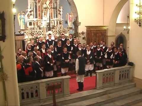 4-5-2013  Signore delle cime a cori uniti : Bachis Sulis e Ortobene dirige Michele Turnu
