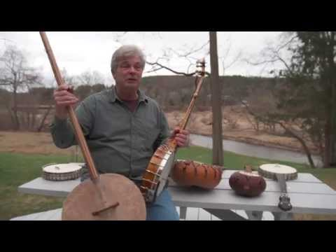 Banjo maker Jim Hartel on the African heritage and American history of the banjo