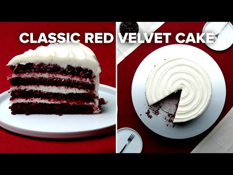 Classic Red Velvet Cake • Tasty Recipes