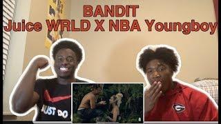 Juice WRLD - Bandit ft NBA Youngboy | Dir. by @_ColeBennett_ | Official Video Reaction!