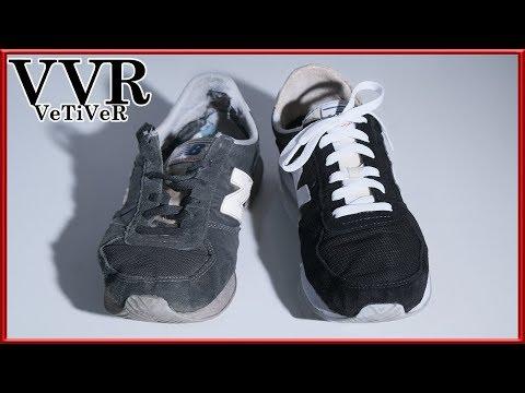 """[ASMR] Bersihkan & Pulihkan Sepatu Baru """"New Balance"""" """"220"""". 4k"""