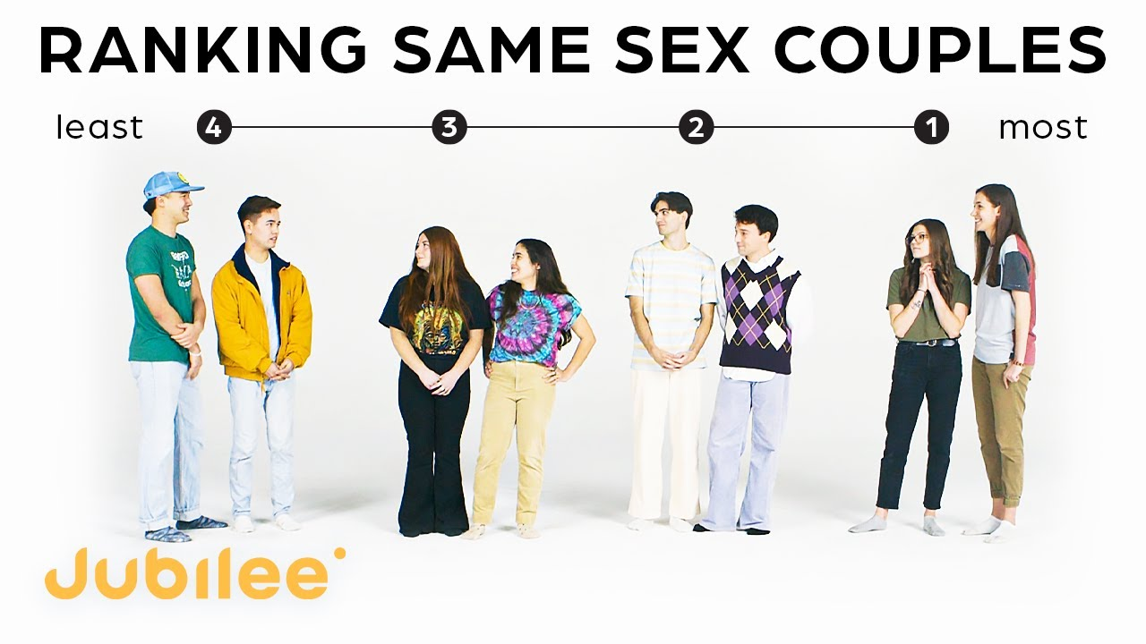 Ranking Couples By Compatibility (Pt. 2) | Same Sex Couples