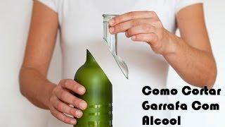 Cortando garrafas de vidro com barbante com Deivid Andrade