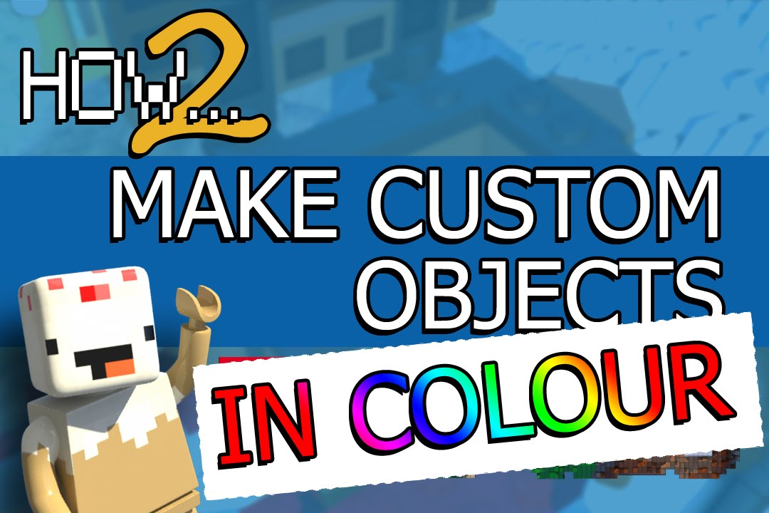 LEGO Worlds Guide: How to Bring *Colourful* Custom Models into LEGO ...
