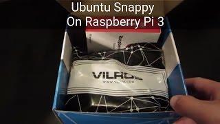 Installing & Setting Up Ubuntu Snappy on Raspberry Pi 3