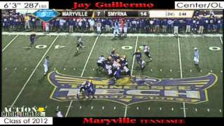 2012 Jay Guillermo - State Champ Highlights