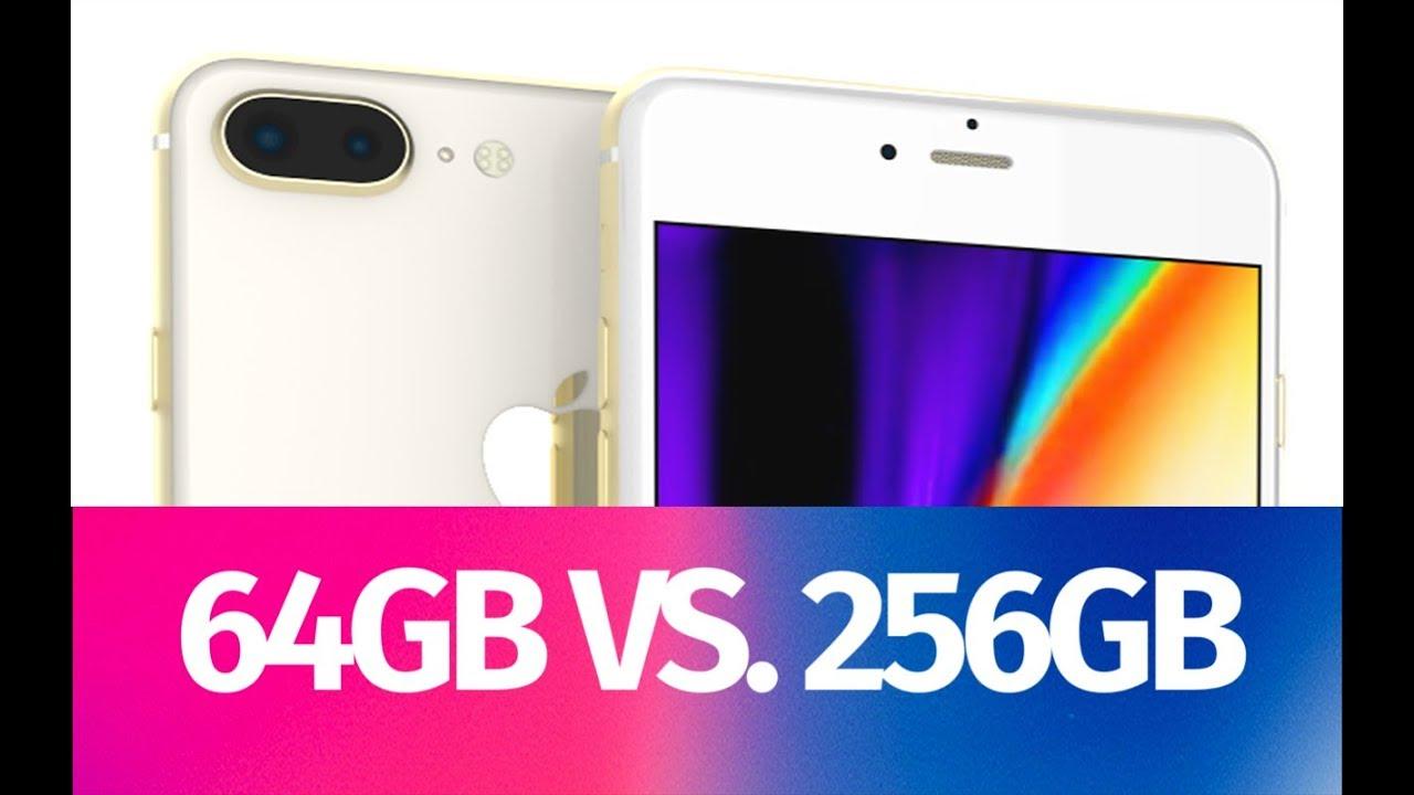 Iphone 8 64gb Vs 256gb