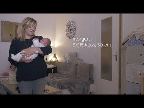 Film de naissance Morgan - faire part vidéo