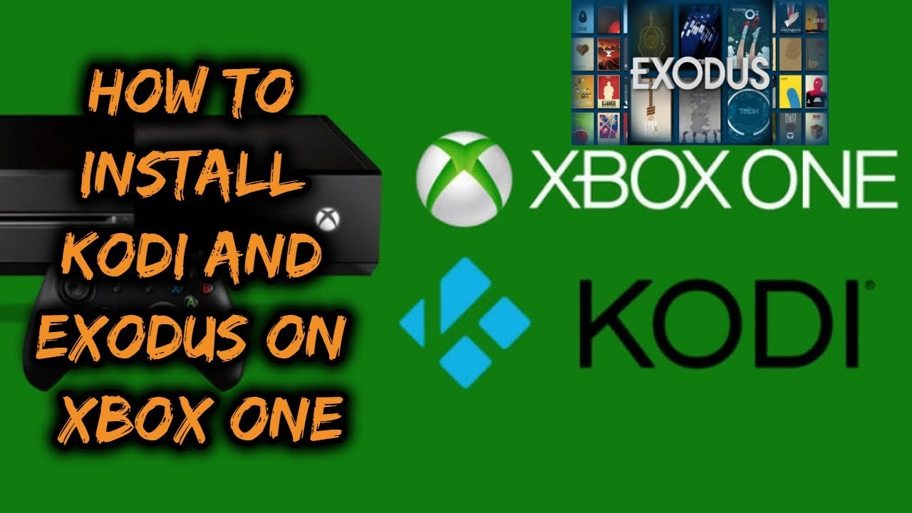 how to install exodus on xbox one