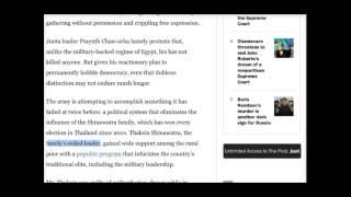 ดร.เพียงดิน รักไทย 2015-02-28 สิ่งที่ Washington Post เขียน ที่ทำให้เผด็จการสะดุ้ง!!!!
