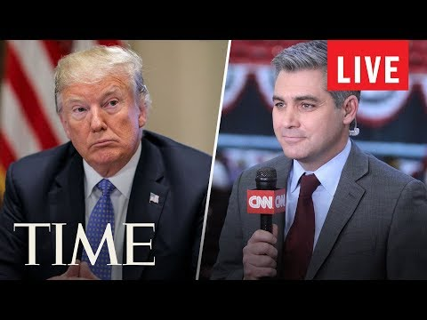 The White House Holds Press Briefing After CNN Reporter Jim Acosta's Press Pass Issue | LIVE | TIME