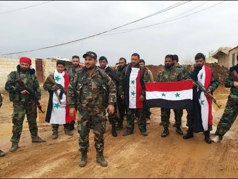 BREAKING NEWS.The fighters of the Assad regime entered Afrin