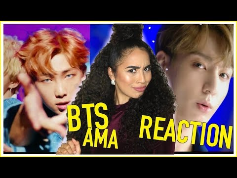 BTS DNA LIVE PERFORMANCE AT AMA'S (AMERICAN MUSIC AWARDS) 2017 REACTION - BTS (방탄소년단)