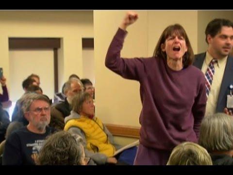 Protestors disrupt Wisconsin presidential electors vote