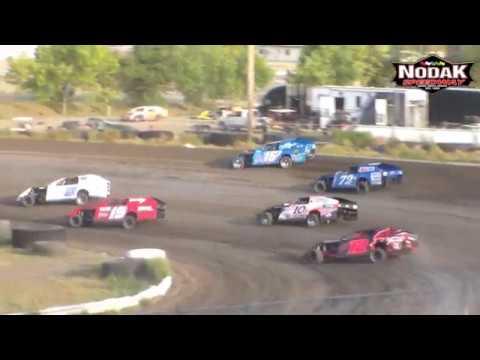Nodak Speedway IMCA Modified Heats (8/19/18)