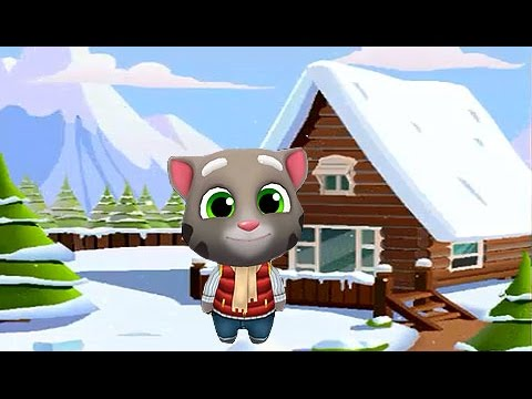 Talking Tom - Carrera sobre la Nieve - El Gato Tom y sus Amigos