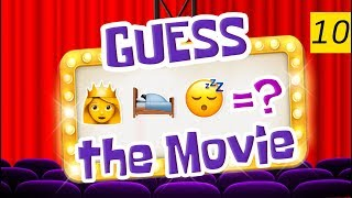 Can You Guess All The Movies? | Emoji Challenge 10 😃
