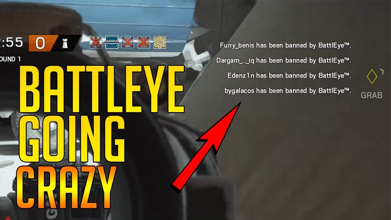 BATTLEYE GOING CRAZY - Rainbow Six Siege