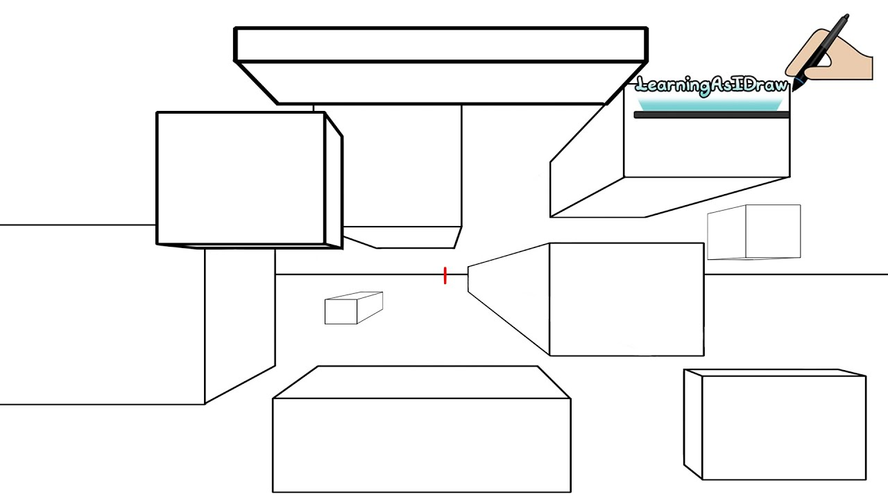 Learning and understanding one point perspective the
