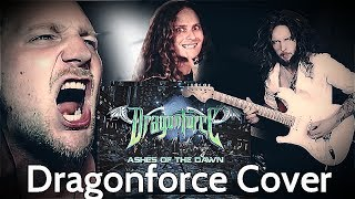 Dragonforce - Ashes of The Dawn Cover ft. Rob Lundgren, Simon Skrlec