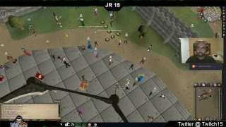 JR 15 Live Streaming Old School Runescape PVP