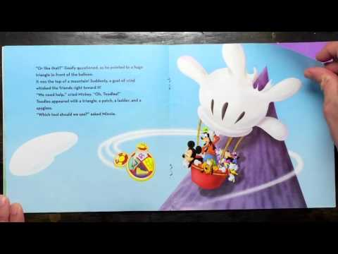 Disney Mickey Mouse Clubhouse Read Along Aloud Story Book For Children