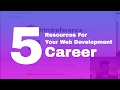 5 resources to start you web developer c