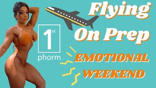1ST PHORM EVENT | FLYING ON PREP | EMOTIONAL WEEKEND ep.23