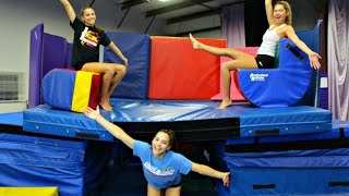24 hours on a trampoline
