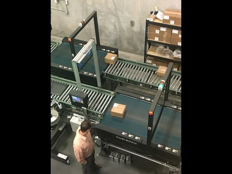 Cubiscan 200-TS–In-motion Dimensioning of Parcels for Order Fulfillment