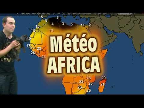 Météo AFRICA par Jacky pour nos grands amis les touristes ...