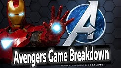 MARVELS AVENGERS GAME LIVE STREAM (Square Enix E3 2019)