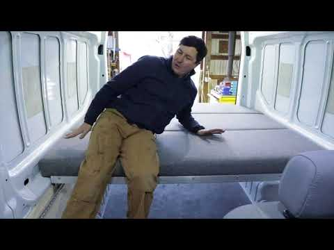How To Build A Removable Van Bed