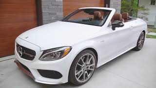 Mercedes Benz C Class Cabriolet Walk Around