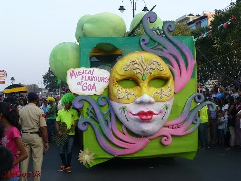 Goa Carnival 2016 - Panaji floats all