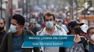México es el tercero más golpeado por el virus en el mundo, con 213 mil 48 fallecidos; la SSa informó el martes que la curva de contagios del coronavirus ha registrado un aumento en los últimos días
