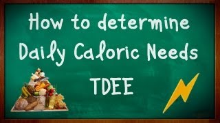 How to Find Maintenance Calories. TEE (Total Energy Expenditure) Daily Caloric Needs