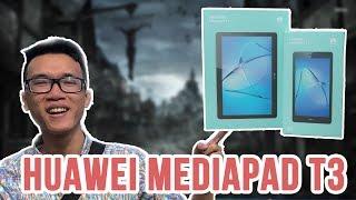 Mở hộp máy tính bảng Huawei MediaPad T3