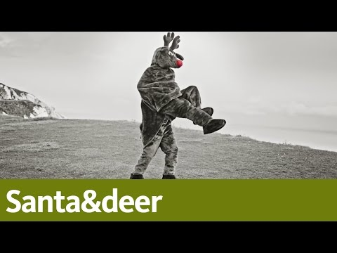 Santa&deer | A bank for Christmas