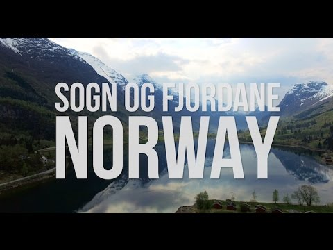Sogn og Fjordane, Norway As Seen By a Drone