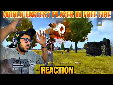 World Fastest Free Fire Player| Fastest Mobile Player In Free Fire |Apelapato Free Fire