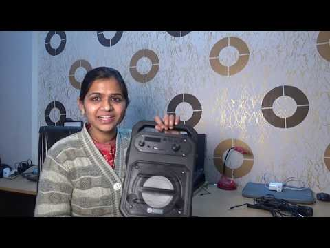 Zoook Rocker Thunder 20 watts bluetooth speaker with karaoke mic Review | Indian Mom Forever