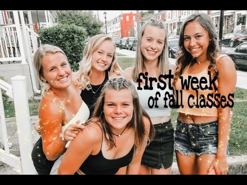 FIRST WEEK OF SCHOOL - York College of PA