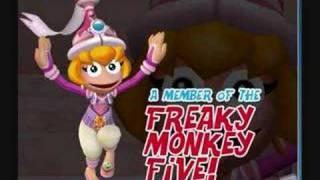 ape escape 3 monkey pink boss music