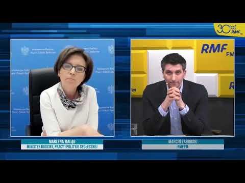 Komrpomitacja Minister Marleny Maląg! Pomyliła radio RMF FM z TVP.